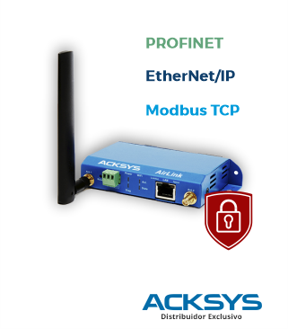 Roteador e Access Point WiFi industrial - Modelo AirLink